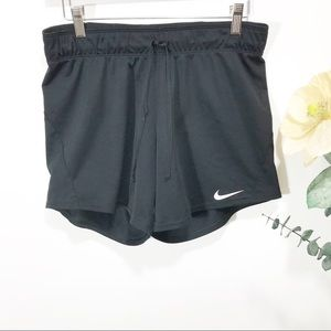 Nike women's Black athletic shorts Size S